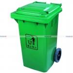 thùng rác nhựa hdpe và thùng rác nhựa composite