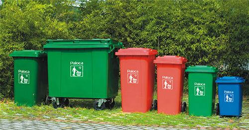 Các mẫu dung tích thùng rác nhựa Paloca đang được ưa chuộng nhất