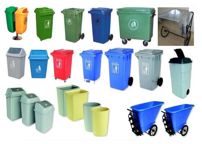 Nên mua thùng rác nhựa hay thùng rác inox