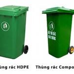 Những ưu điểm và nhược điểm của thùng rác nhựa composite