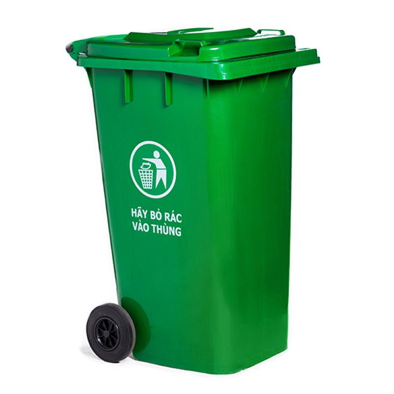Đại lý cung cấp thùng rác nhựa HDPE 120 lít tại Hà Nội