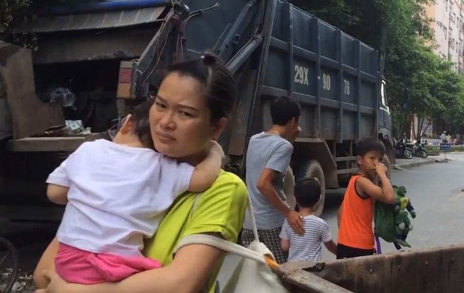 Ô nhiễm môi trường ở các điểm tập kết rác