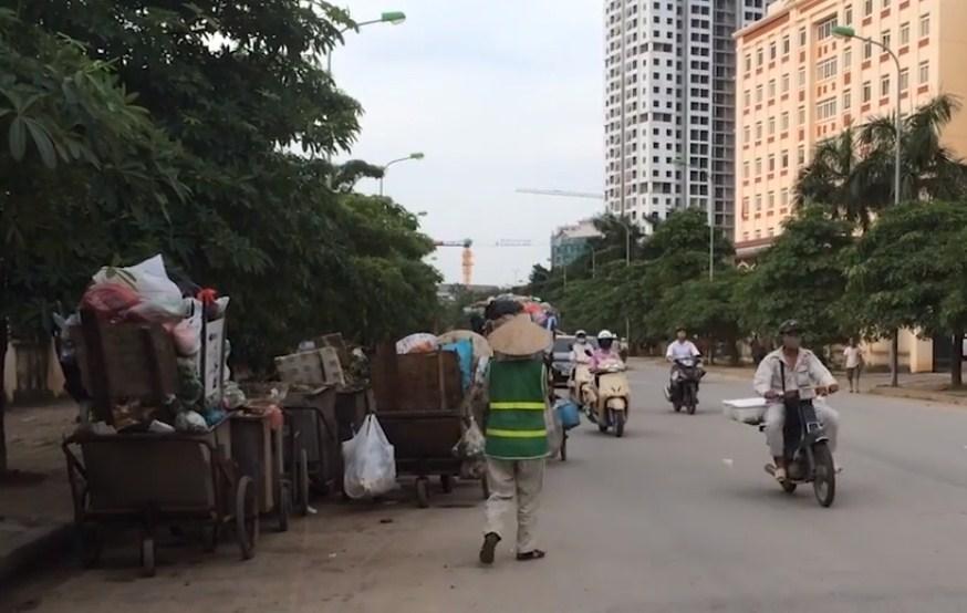 Ô nhiễm môi trường tại các điểm tập kết rác ở Hà Nội