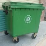 Thùng rác nhựa 660 lít sử dụng nhiều ở các khu công nghiệp
