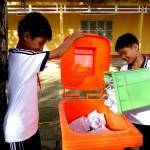 Thùng rác tiết kiệm