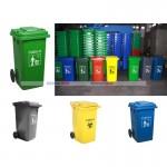 Thùng rác nhựa nắp đậy