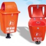 Thùng rác nhựa công cộng hdpe