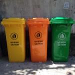 thùng rác công cộng sóc sơn