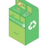 Thùng xử lý rác sơ bộ