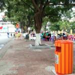 Thùng rác tại Uông Bí