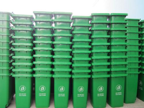 Thùng rác tại Tp.HCM