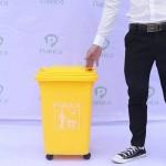 Thùng rác nhựa y tế 50 lít