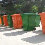 thùng rác nhựa composite 240l