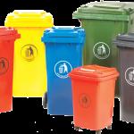 Thùng rác tại Cà Mau