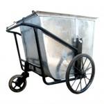 Xe đẩy rác bằng tôn