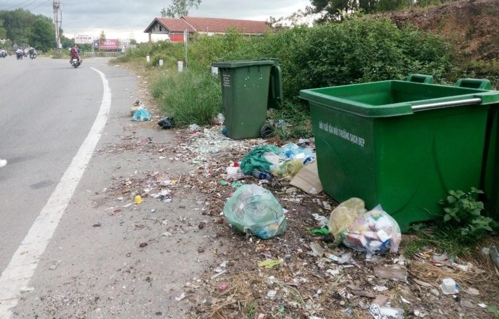thùng rác bảo vệ môi trường