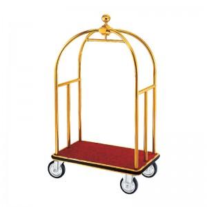 Xe đẩy hành lý sử dụng khách sạn