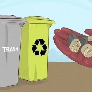 Xin đừng vứt pin vào thùng rác