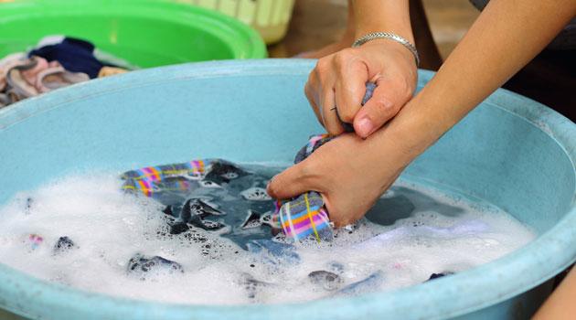 Quần áo và cách giặt