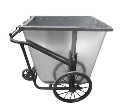 Xe gom rác thải đẩy tay 400 lít