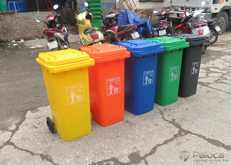 Thùng rác nhựa 240 lít Paloca giá rẻ