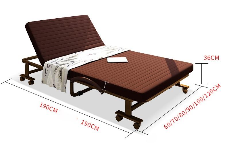 kích thước giường phụ khách sạn