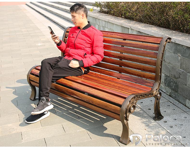 ghế công viên paloca