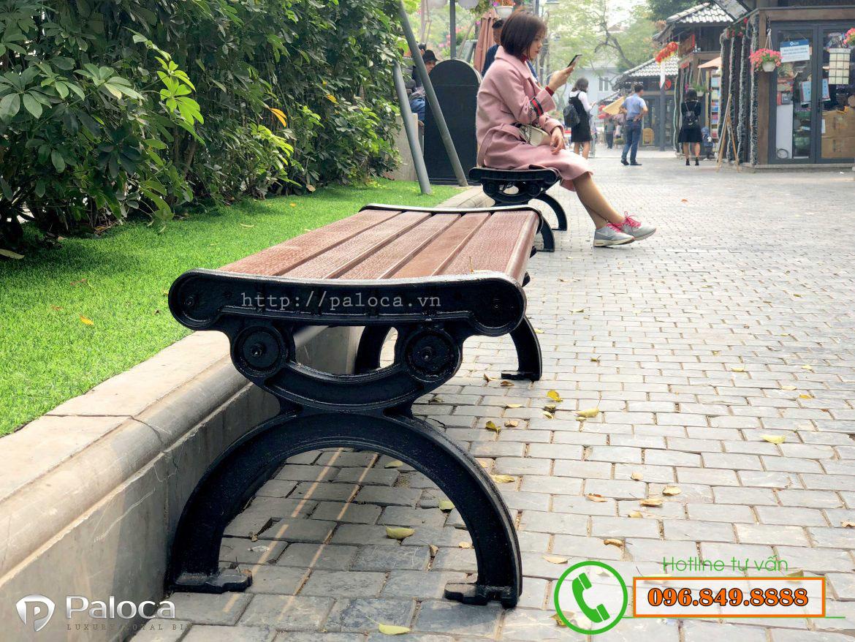 Ghế băng công viên không tựa