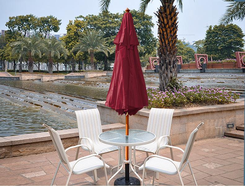Những kiểu ô dù quán cafe hót nhất trên thị trường hiện nay