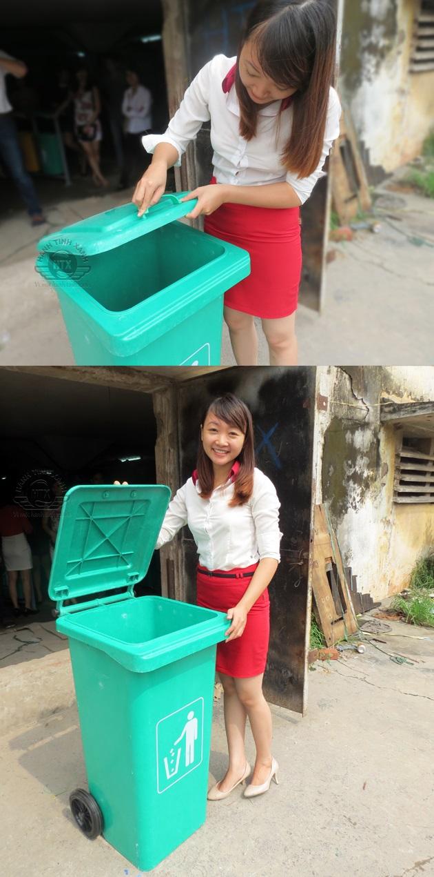 Đặc điểm của thùng rác nhựa composite nhập khẩu
