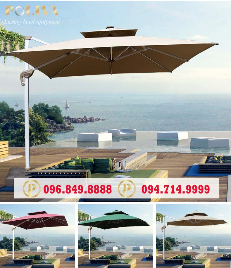 Bí quyết mua ô dù ngoài trời giá tốt tại Hà Nội