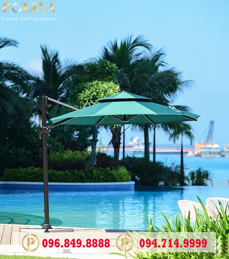 99 mẫu ô dù che nắng bể bơi đẹp giá rẻ nhất tại Việt Nam - Poliva.vn