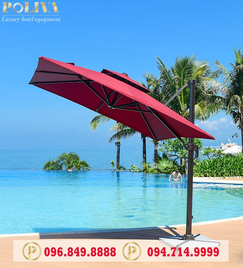 99 mẫu ô che nắng bể bơi đẹp giá rẻ nhất tại Việt Nam - Poliva.vn