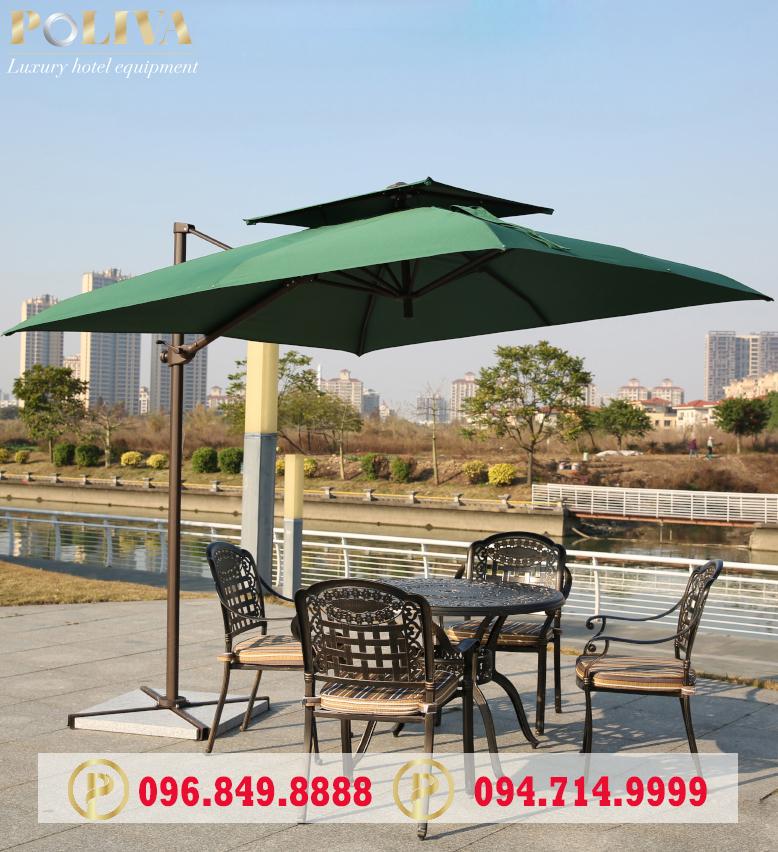 Công dụng của sản phẩm ô cafe che nắng Poliva