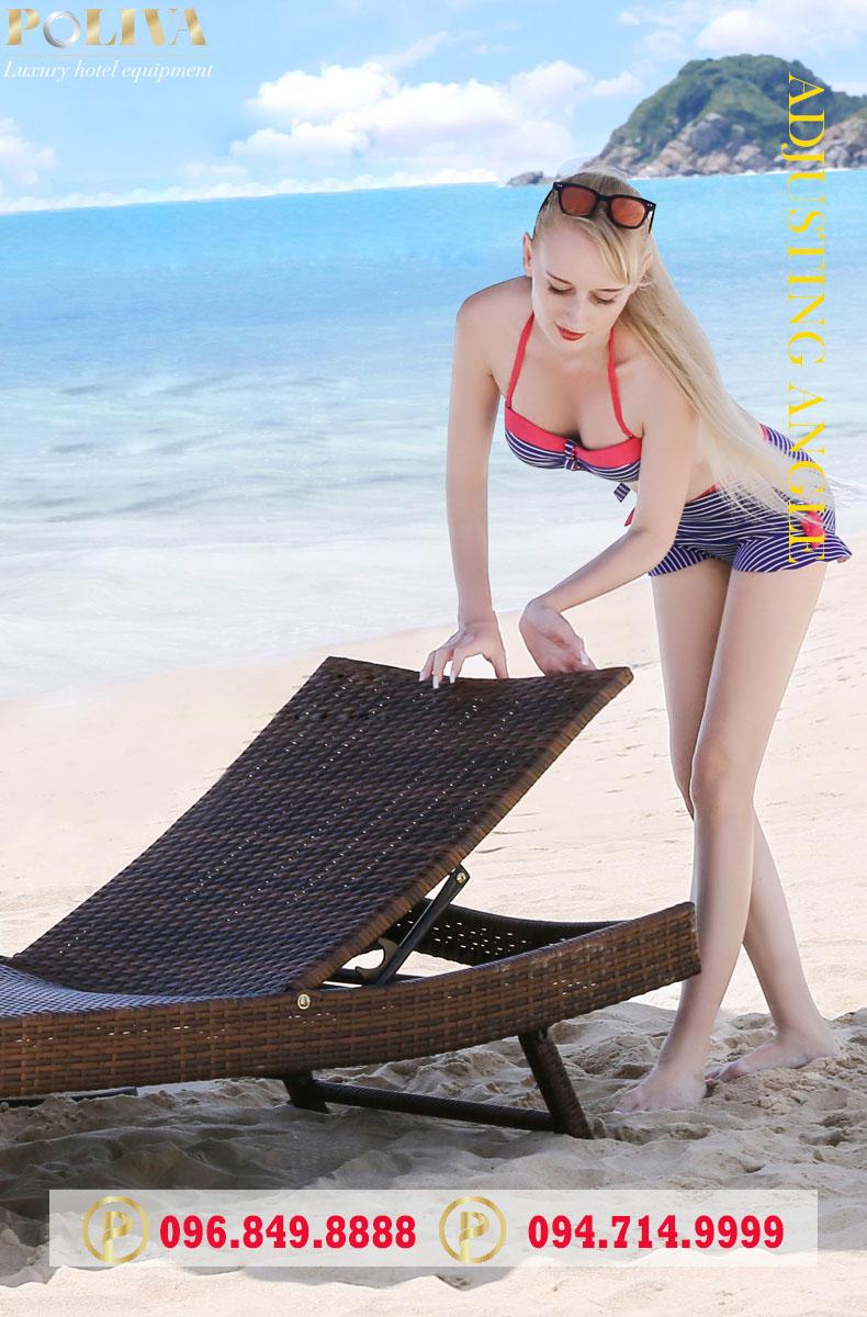 Tổng hợp những mẫu ghế nằm bãi biển được ưa chuộng nhất