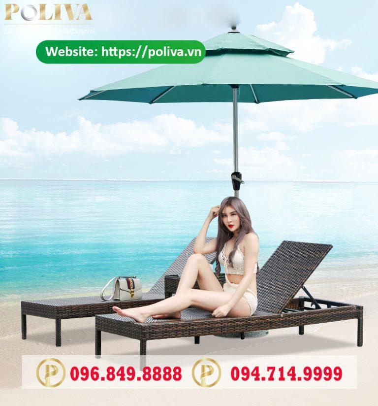 Cung cấp ghế hồ bơi giá rẻ trên toàn quốc - Poliva.vn