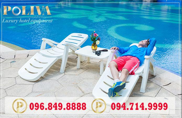 Tiết kiệm chi phí khi mua ghế hồ bơi