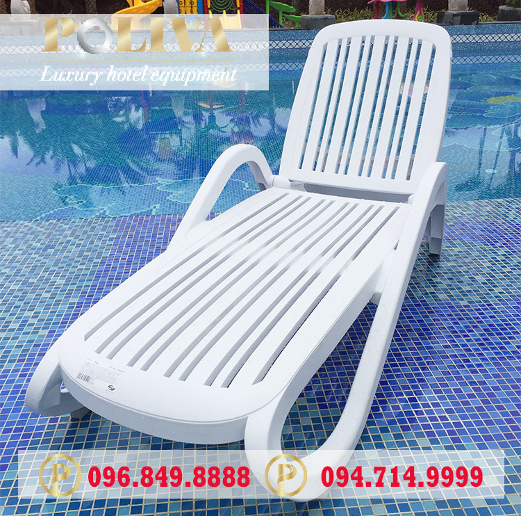 Đặc điểm của ghế bể bơi nhập khẩu thương hiệu Poliva