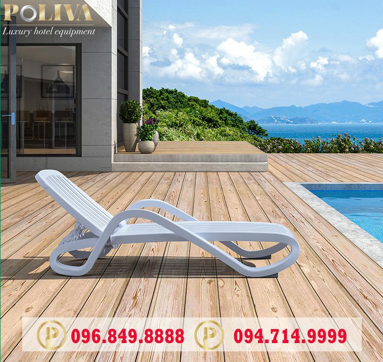 Giới thiệu 2 loại ghế hồ bơi phổ biến nhất hiện nay