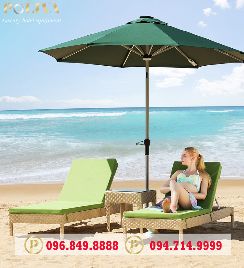 Ghế tắm nắng bãi biển