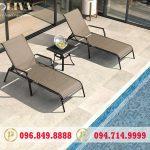 Đặc điểm của ghế bể bơi textilene vải lưới