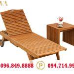 Ưu điểm của ghế hồ bơi bằng gỗ
