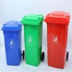 Ý nghĩa màu sắc thùng rác