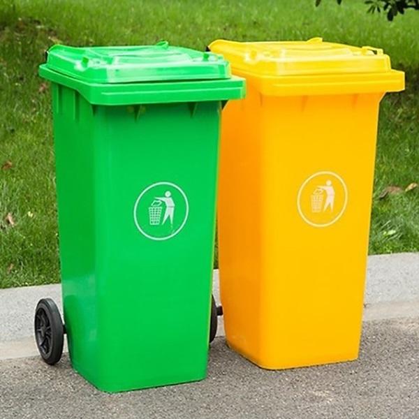 Quy định màu sắc của thùng rác