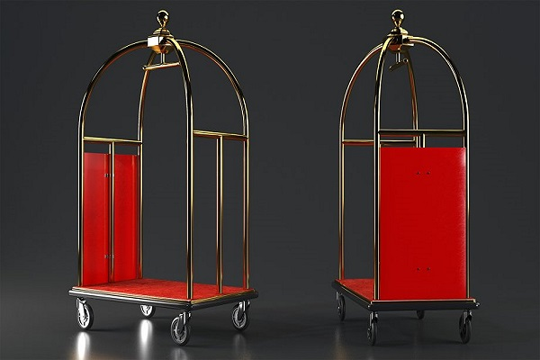 Xe đẩy hành lý khách sạn mang nhiều ưu điểm nổi bật