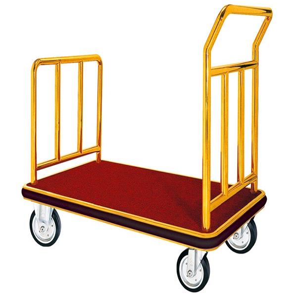 Xe kéo hành lý ngày càng được sử dụng rộng rãi trong các khách sạn, resort...