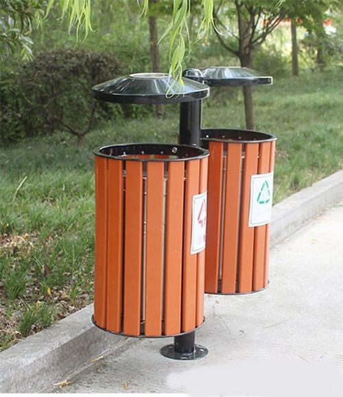 Thùng rác có nhiều ưu điểm nổi bật như bền bỉ, chắc chắn, màu sắc nổi bật