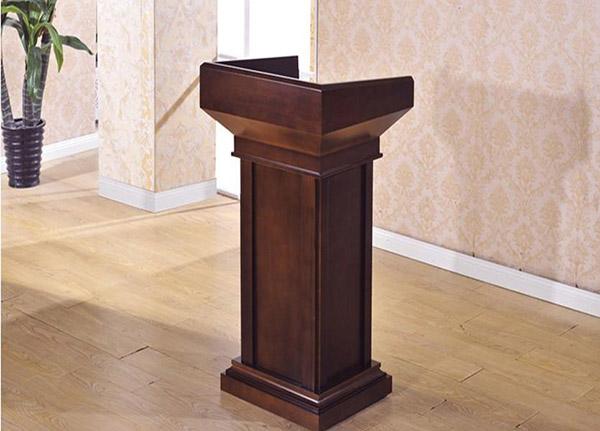 Bục phát biểu bằng gỗ