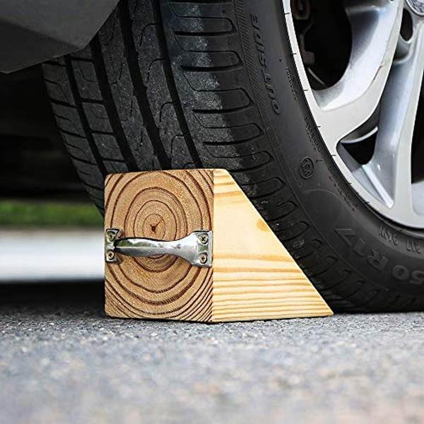 Cục chặn bánh xe bằng gỗ