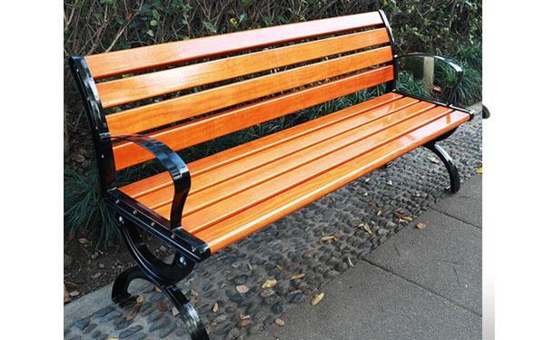 Ghế công viên composite được làm từ bột gỗ và nhựa composite